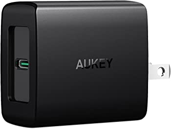 Aukey PA-Y7 Amp Duo USB Wall Charger with Power Delivery