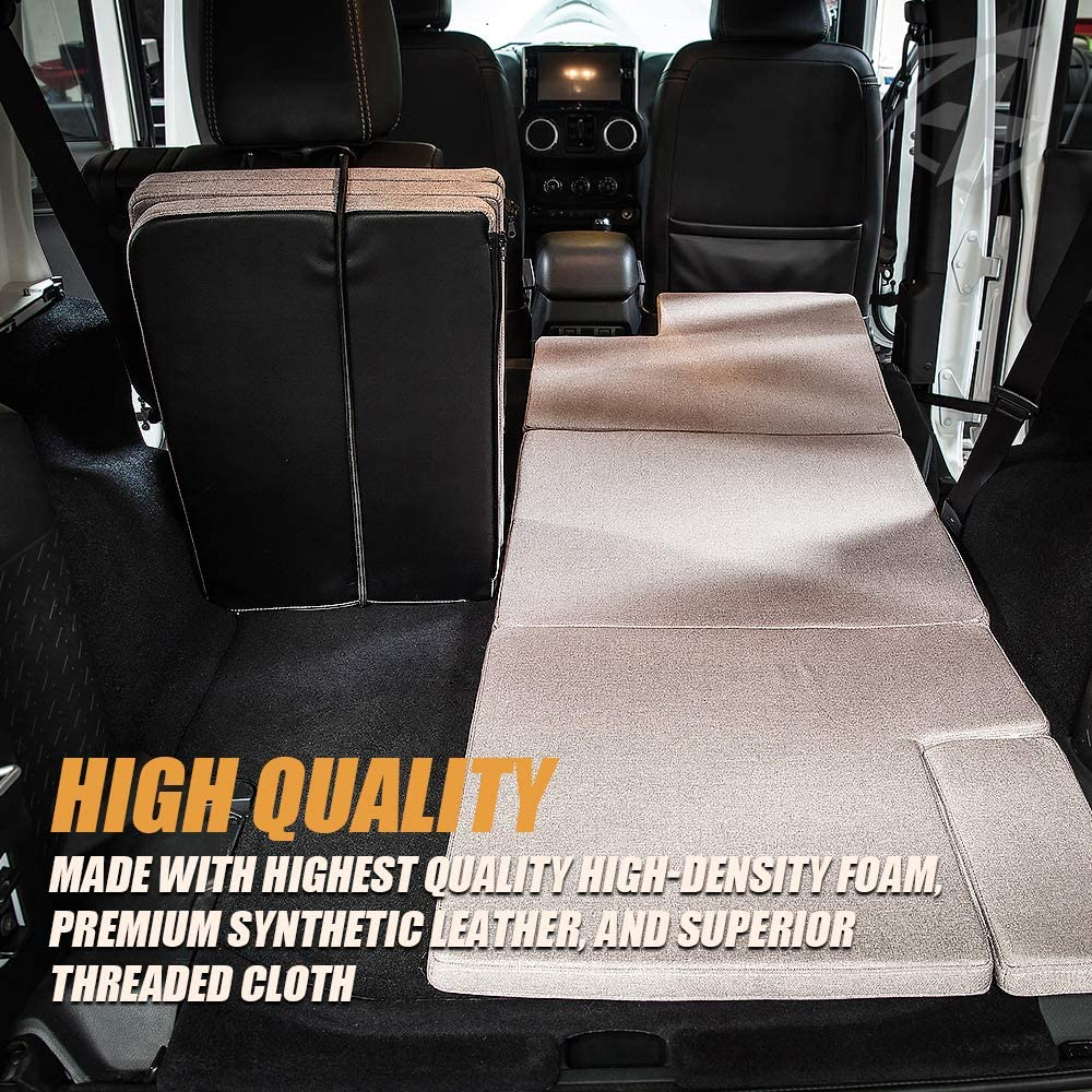 2009 and up Subaru Forester /& Outback Xprite Black NitePad Premium Portable Mattress Sleeping Bed Pad Cushion Fits 2014-2019 Toyota 4Runner