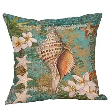 Amazon.com: Uscharm Ocean - Funda de cojín para sofá o ...