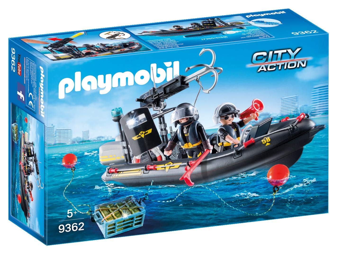 PLAYMOBIL® Tactical Unit Boat by PLAYMOBIL® (Image #1)