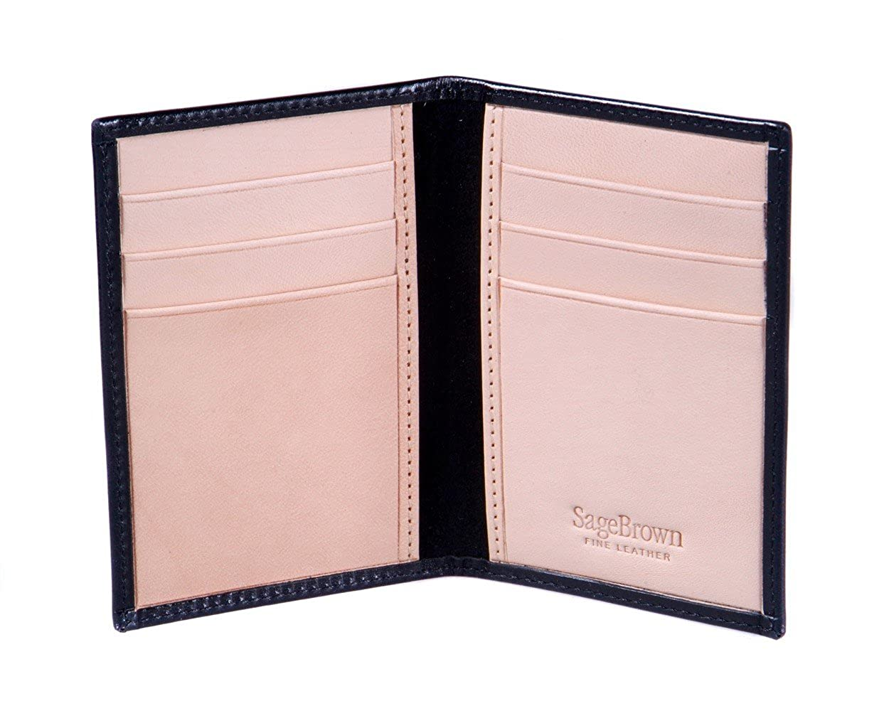SAGEBROWN Slim 6 Credit Card Case