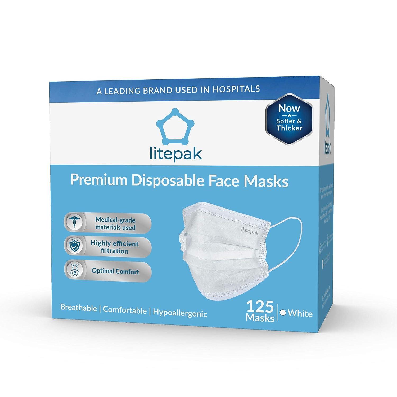 Earl Premium Face 타임커머스 Disposable 125ct 티몬 Mask Box Soft