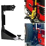 OMOTOR Off-Road Tailgate High Lift Jack Mount Bracket fit for Jeep Wrangler JK 2007 2008 2009 2010 2011 2012 2013 2014…