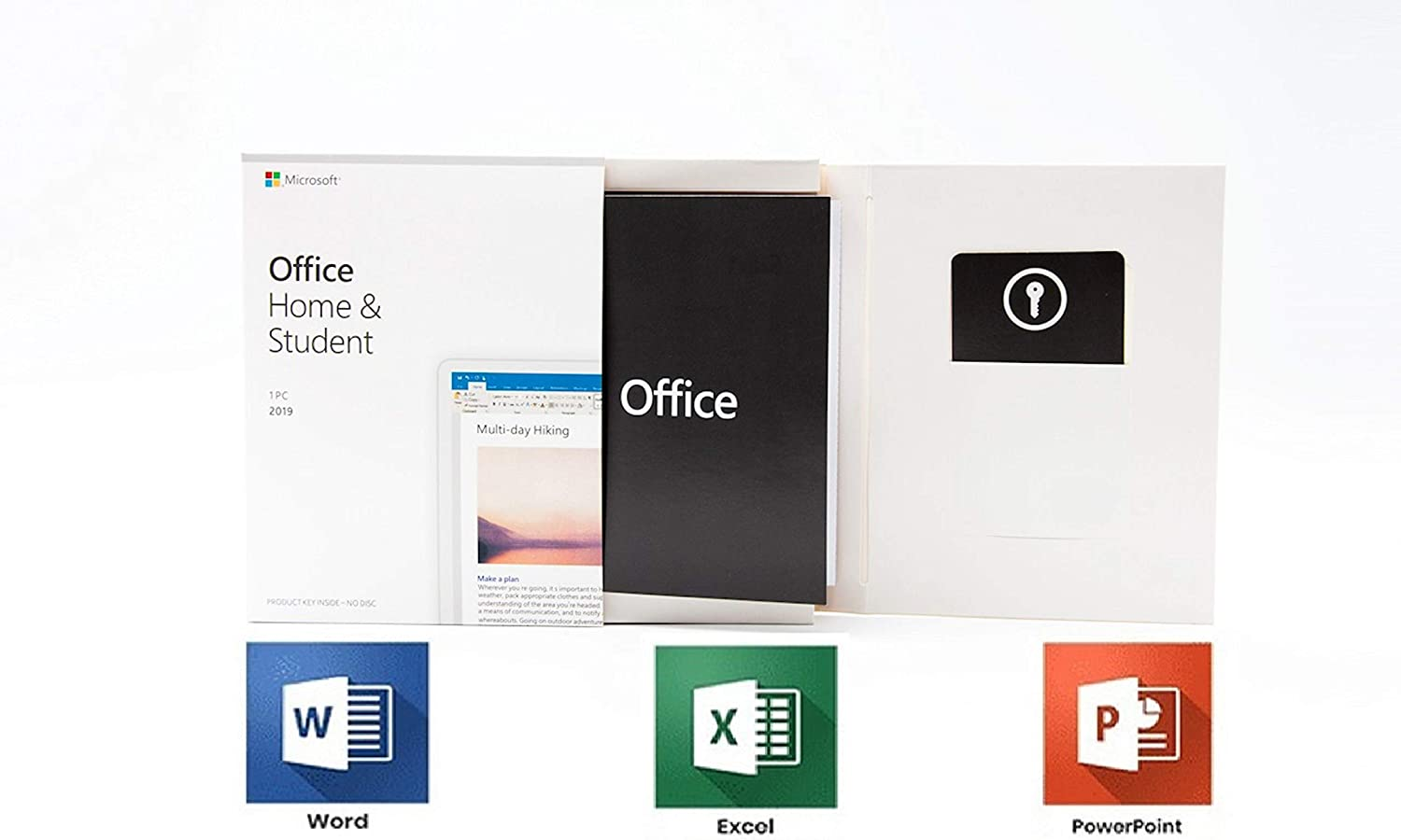 Office 2019 Home and Student / 1 PC / Only Windows 10 / 1 User / Box / Original Product / New / Office 2019 Home & Student