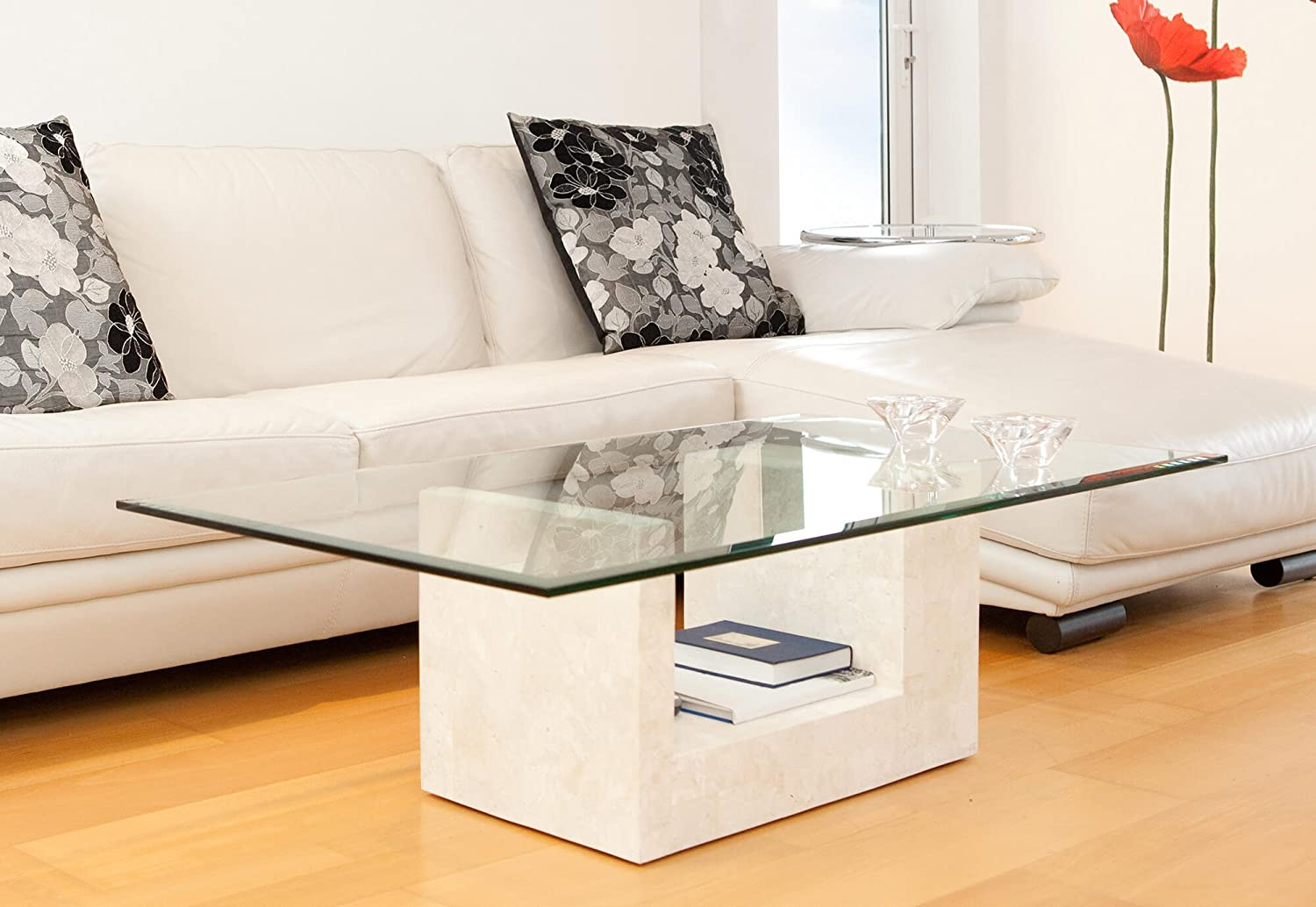 30 x 54 Fab Glass and Mirror Rectangle Glass Table Top Clear