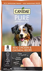 CANIDAE Pure Real Chicken & Oatmeal Recipe Dry Dog Food, 24 lbs.