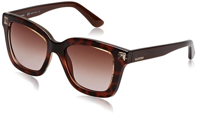 492599aee9a5 Valentino V699S-725 Ladies Blonde Havana V699S Sunglasses  Amazon.ca ...
