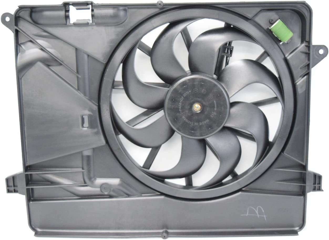 Sunbelt Radiator And Condenser Fan For Buick Encore GM3115257 Drop in Fitment