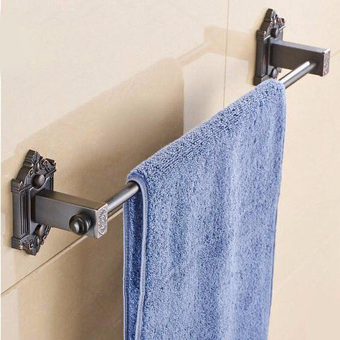 Sursy Jardín de estilo europeo puro cobre antiguo retro toalla toallero barra Barra de toalla de baño Guadan accesorios de hardware,B: Amazon.es: Hogar