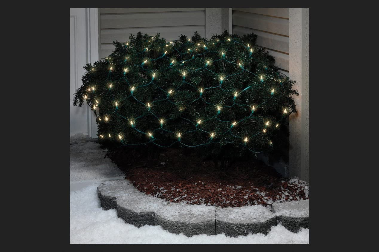 Celebrations 40806-71 100 Ct LED Cool White Traditional Net Lights