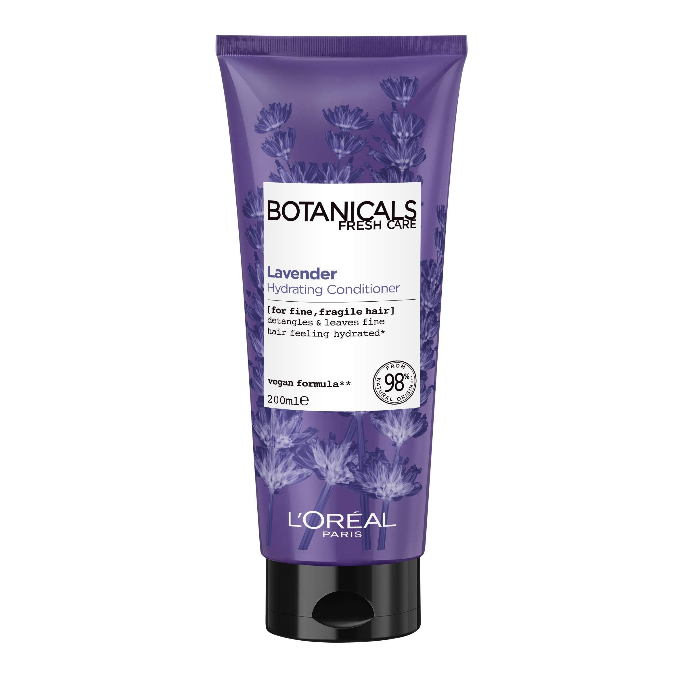 L'Oreal Paris Botanicals Lavender Sensitive Hair & Scalp Vegan Conditioner 200ml (Packaging May Vary)