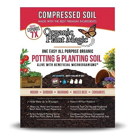 Compressed Organic Potting-Soil for Garden \u0026 Plants - Expands up to 7 Times When  sc 1 st  Amazon.com & Amazon.com : Compressed Organic Potting-Soil for Garden \u0026 Plants ...