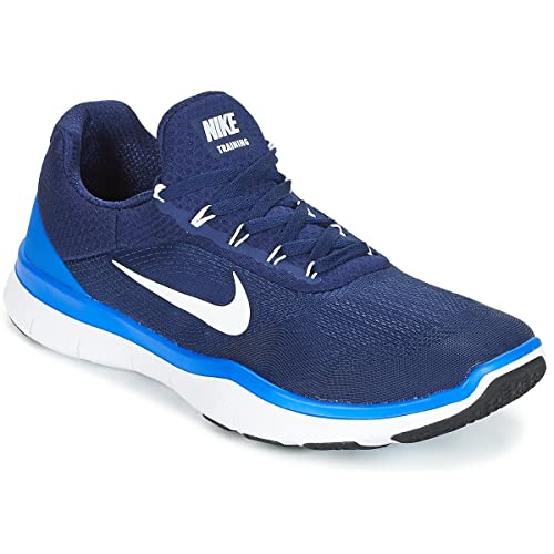 huge discount 09e67 befd9 NIKE Men s Free Trainer v7 Training Shoe (8 D US, Binary Blue White