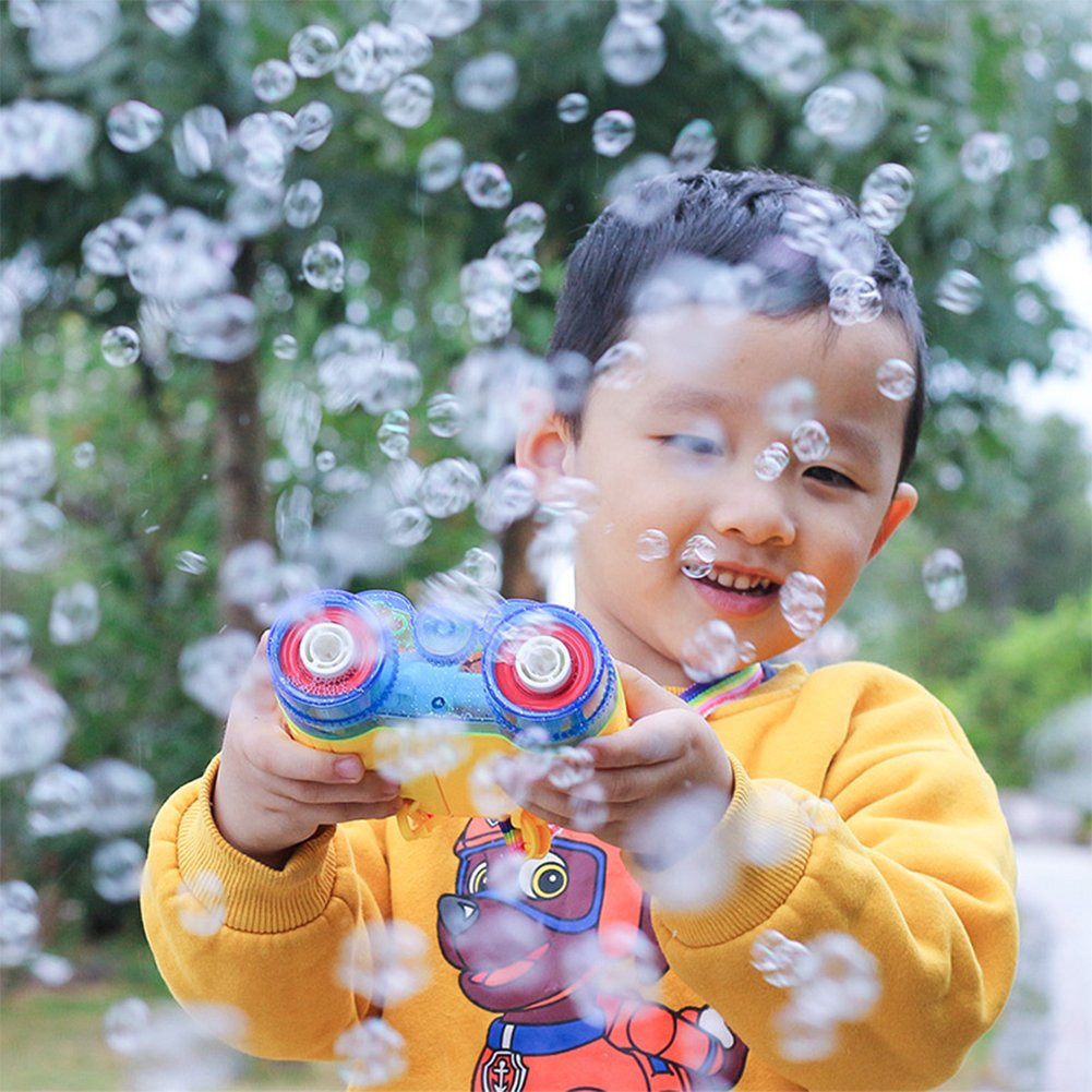 Creative Camera Design Electric Bubble Gun with Music Perfect Gift for Kids by RONSHIN (Image #2)