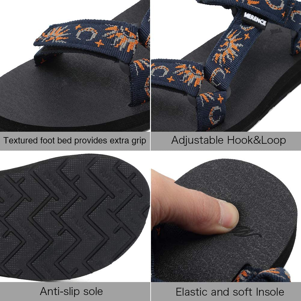 Womens Original Sandals Sport Sandals with Yoga Mat Insole Hiking Sandals Light-Weight Shoes