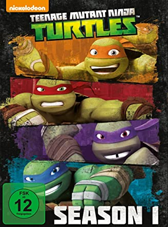 Teenage Mutant Ninja Turtles - Season 1 Alemania DVD: Amazon ...