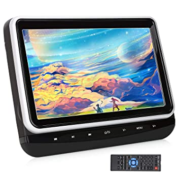 AUX CPRM対応 リージョンフリー dvd 10.1インチ AV-OUT USB/ SD/ PUMPKIN 車載 18ヶ月保障 レジューム機能 AV-IN/ スロットイン式 ヘッドレストモニター dvdプレーヤー