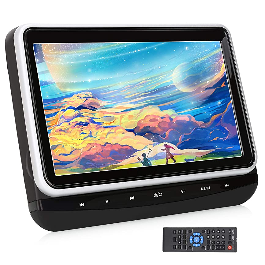 巨人落胆した結紮車載 ヘッドレストモニター 11.6インチタブレットタイプ Android マルチタッチパネル4コア CPU 16GB HDD WiFi Bluetooth USB SD ハイビジョン対応(TA11)