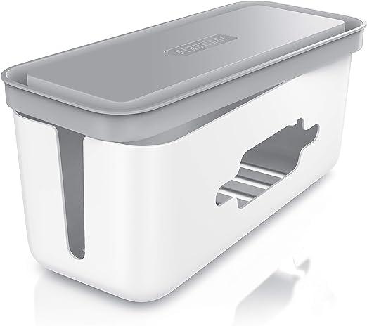 Beasrware - Caja para cables - Organizador para cables -Caja para cables - Caja para esconder cables: Amazon.es: Bricolaje y herramientas