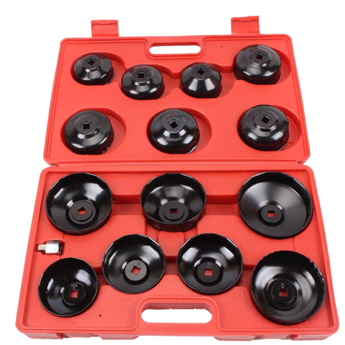 CCLIFE 15 pcs cl/é filtre huile universel Bouchons filtre /à huile cli/é filtre /à huile