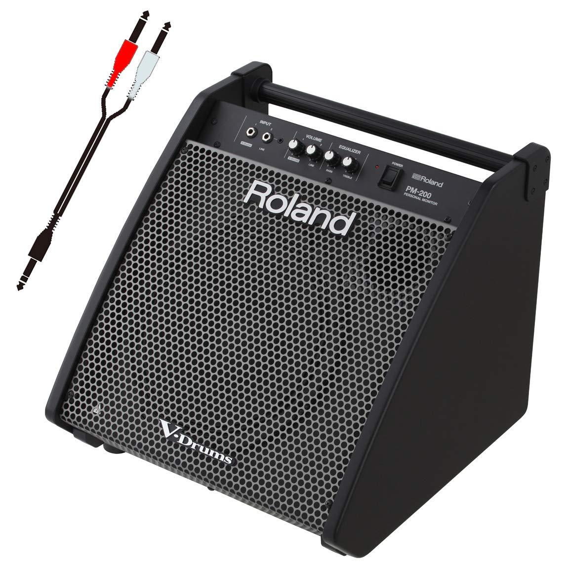 Roland 電子ドラム用モニタースピーカー PM-200 接続ケーブルセット   B07G542WRW