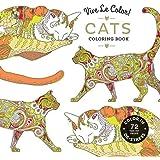 Vive Le Color! Cats (Adult Coloring Book): Color In; De-stress (72 Tear-out Pages)