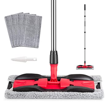 MEXERRIS Microfiber Mop For Hardwood Cleaning