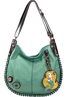 abb734c473 Amazon.com  Chala Purse Handbag Leather Hobo Cross Body Convertible ...