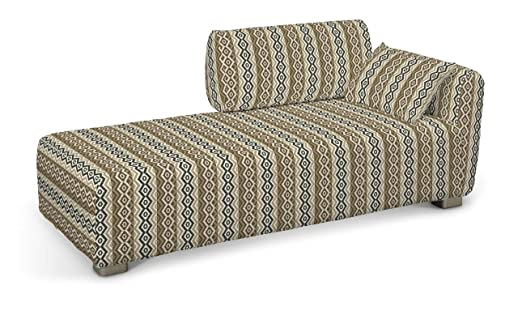 Dekoria Fire retarding IKEA MYSINGE Chaise Longue, Color Beige ...