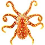 TAGLN 海洋動物の悪魔の魚クリスマスプレゼントや家の装飾を詰め現実的なソフトのぬいぐるみタコ
