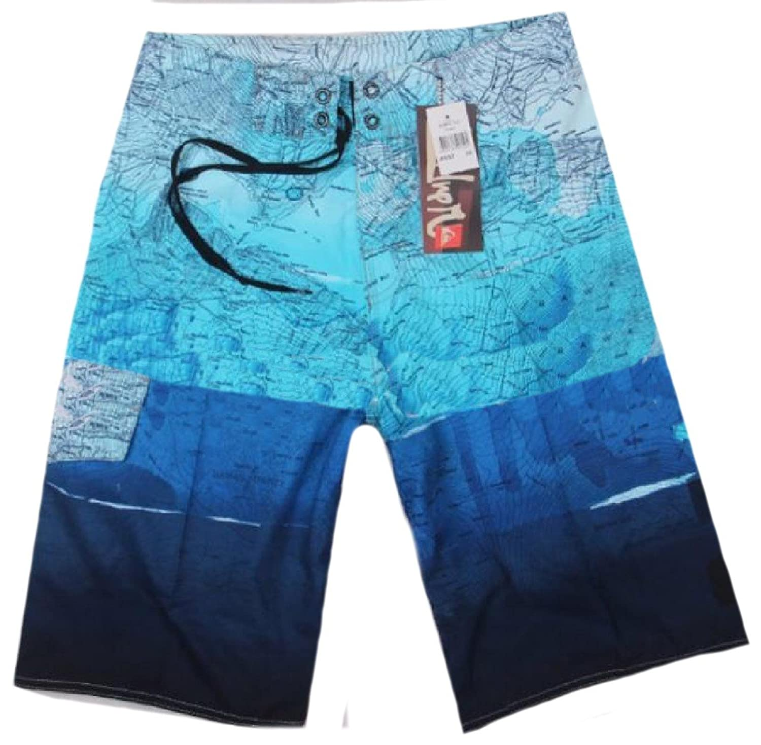 Abetteric Men Quick?Dry Casual-pants Breathable Stretch Beach Shorts