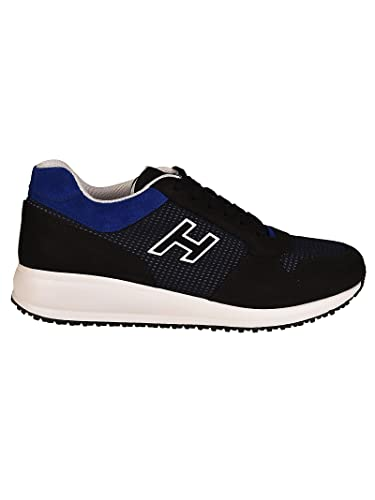Hogan Men s Interactive N20 Sneakers Blu Uomo 9  Amazon.co.uk  Shoes ... 4c073c593bf