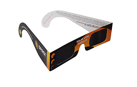 Gnomon Solar View Goggles Solar Eclipse Viewer made of 100% Safe & Certified Thousand Oaks Film (USA)