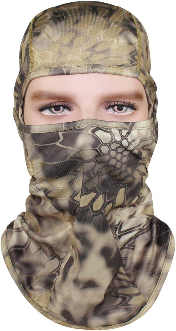 Dakine Hunter Balaclava tama/ño talla /única Gorro para casco color camuflaje