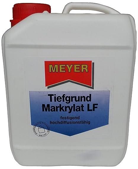 Meyer unas Razón Mark Exteriores LF 5L – sin disolvente Seguridad Imprimación, inodoro, festigend