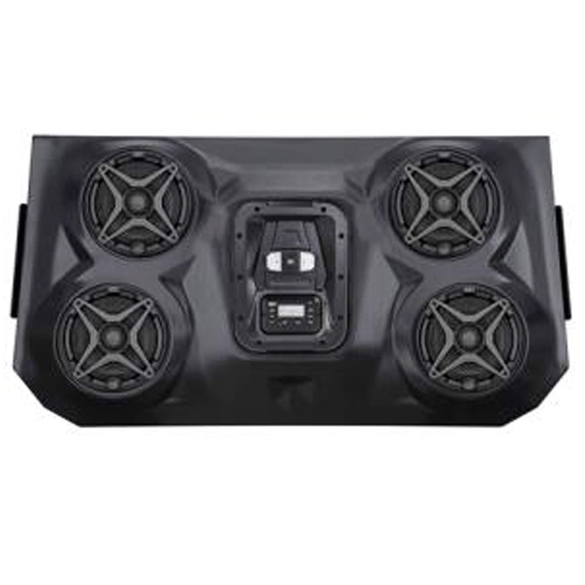 SSV Works WP3-RZF3O4A Weather Proof Razer 4 Overhead iPod 4 Speaker Sound bar with Bluetooth by SSV Works