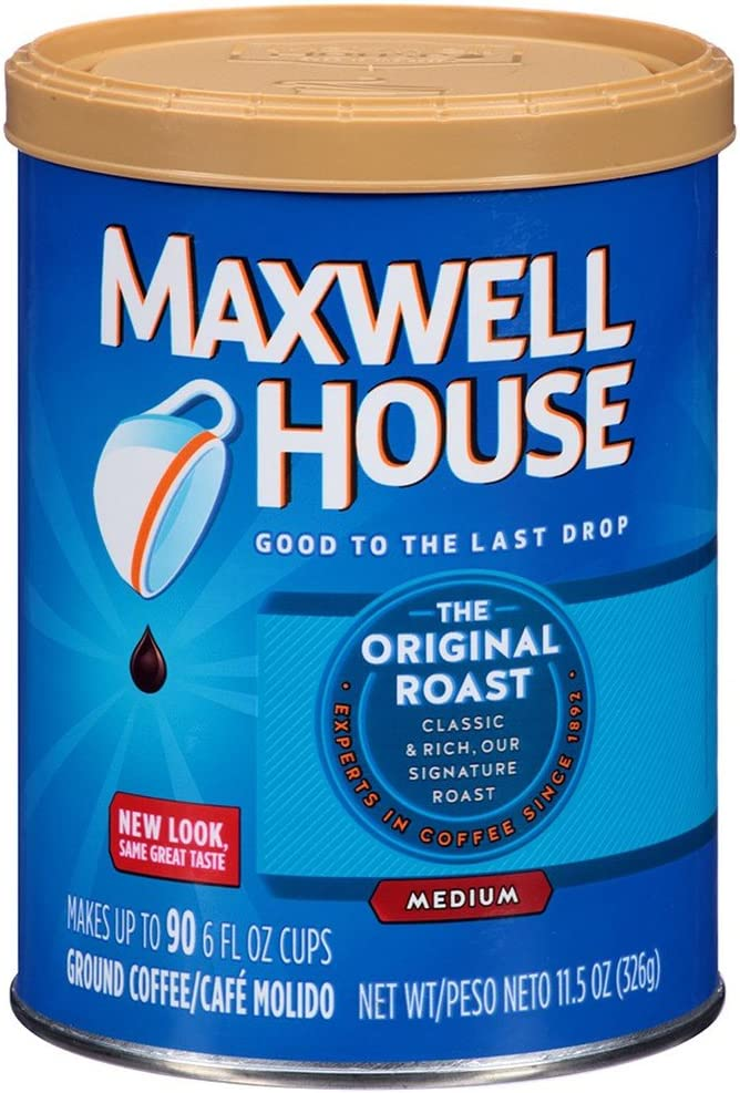 Maxwell Coffee Diversion Safe Stash Can - 11.5oz 2017 Model