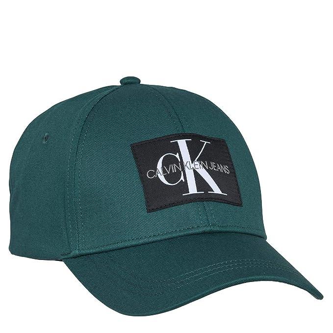 Calvin Klein - Gorra 181013 K40K400752 308 - Verde, U: Amazon.es: Ropa y accesorios