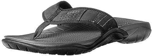 beea3b9c6ab9 Crocs Men s Swiftwater Flip Flop  Amazon.ca  Shoes   Handbags