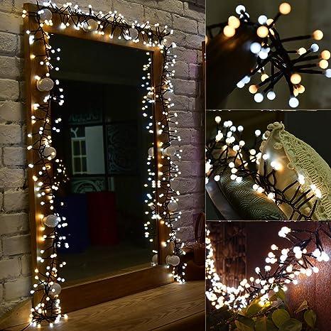 Amazon.com : LED String Light 400 LED 9.8ft LED String Lights ...