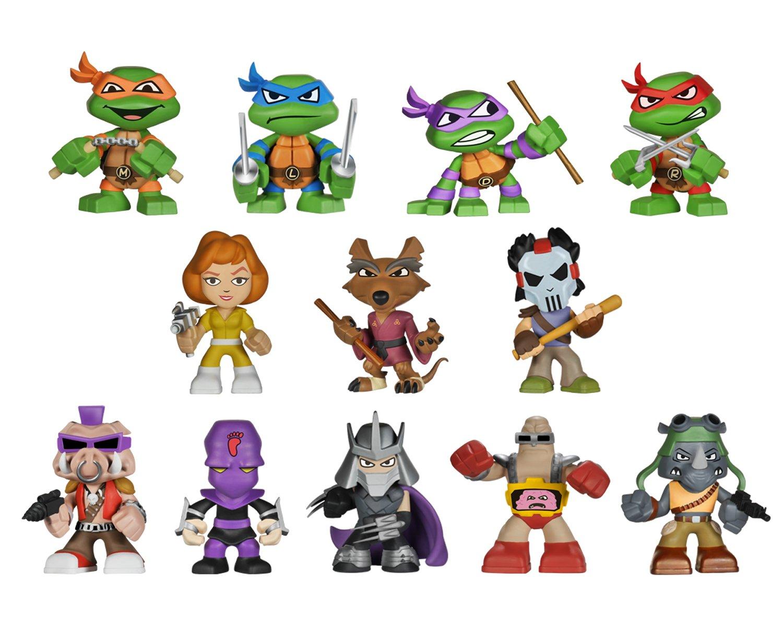 Teenage Mutant Ninja Turtles: Funko Mystery Mini Blind Box ...
