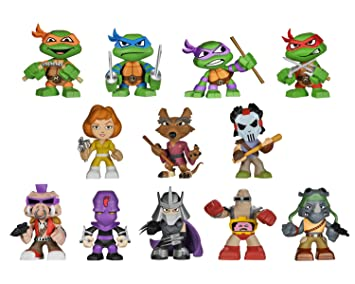 Teenage Mutant Ninja Turtles: Funko Mystery Mini Blind Box ...