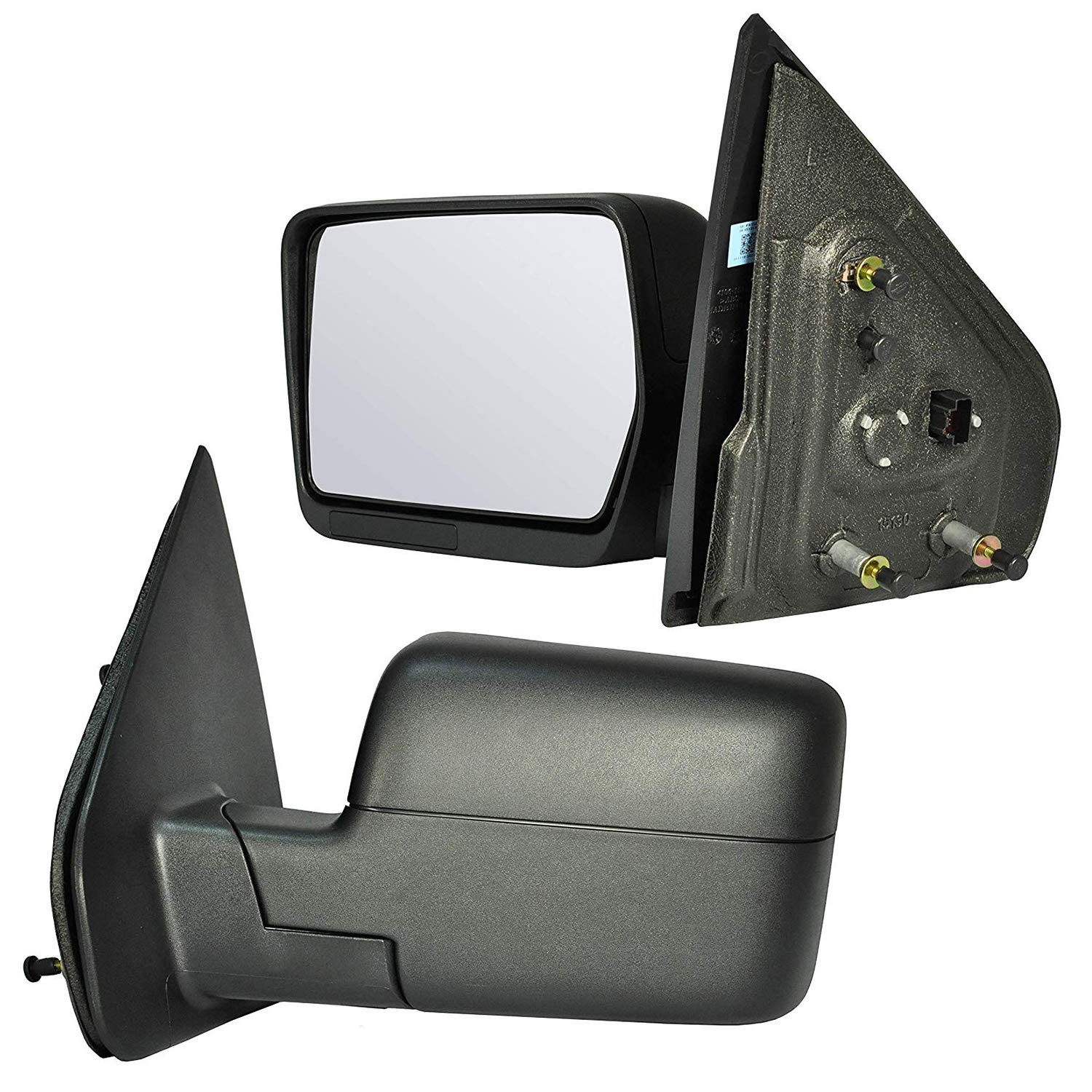 Driver and Passenger Side Mirrors Non-Heated Power Remote for 2004-2008 Ford F-150 FO1321233
