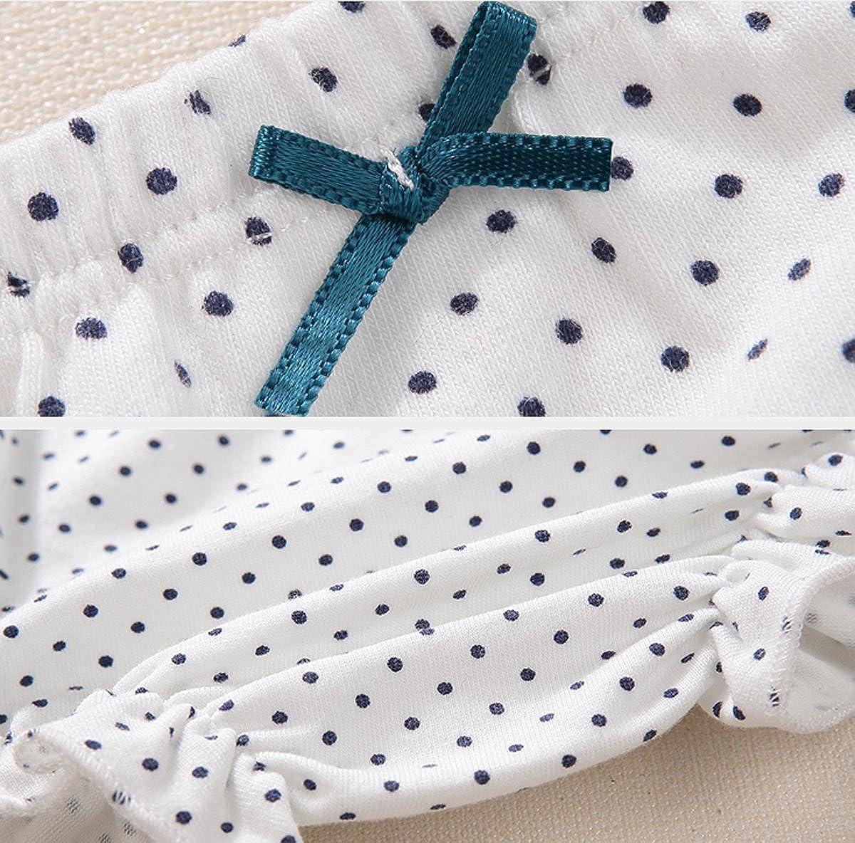Dr.Sosmonki 3 Set Kleinkinder Baby M/ädchen Bequem Baumwolle Unterhosen Unterw/äsche S/ü/ß Trainerhose