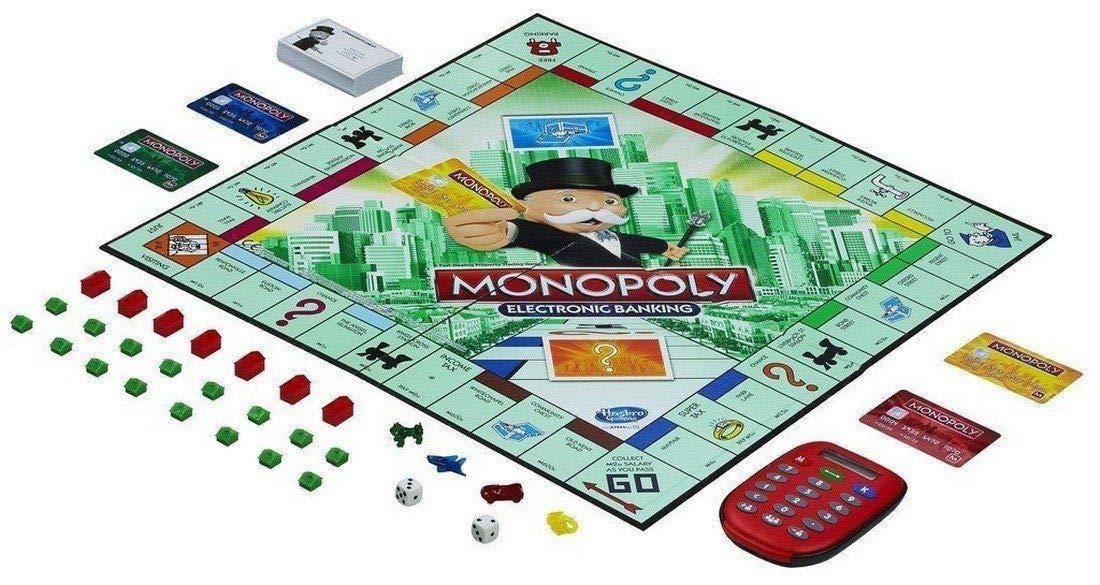 Monopoly juego de cartas electrónico de banca para niños ...