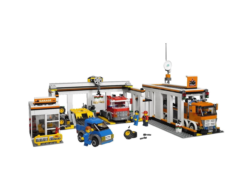 Lego City Garage : Lego city große autowerkstatt amazon spielzeug