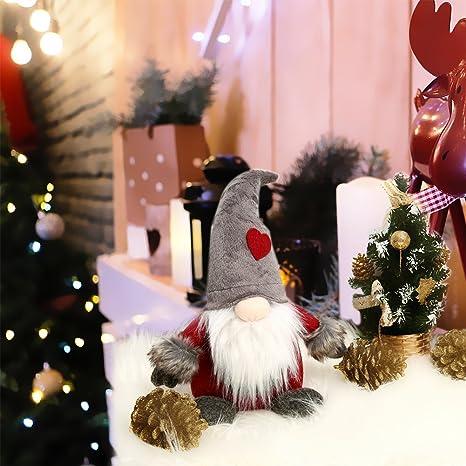 Christmas Gnome Decor.Amazon Com Cutelove Handmade Swedish Tomte Christmas Gnome