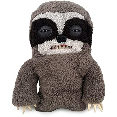 "Fuggler Funny Ugly Monster Deluxe Stuffed Animal 12"" Large Plush by Spin Master (Sickening Sloth): Toys & Games"