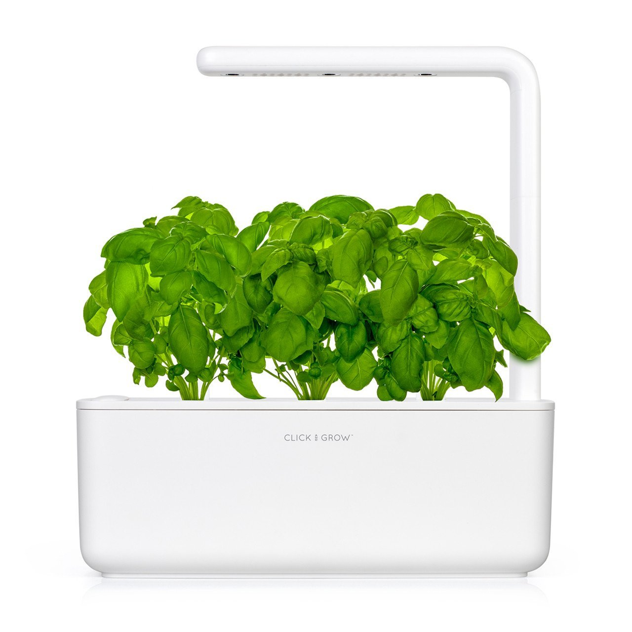 Click and Grow Smart Garden 3 Indoor Herb Garden (Includes Basil Plant Pods), White by Click and Grow