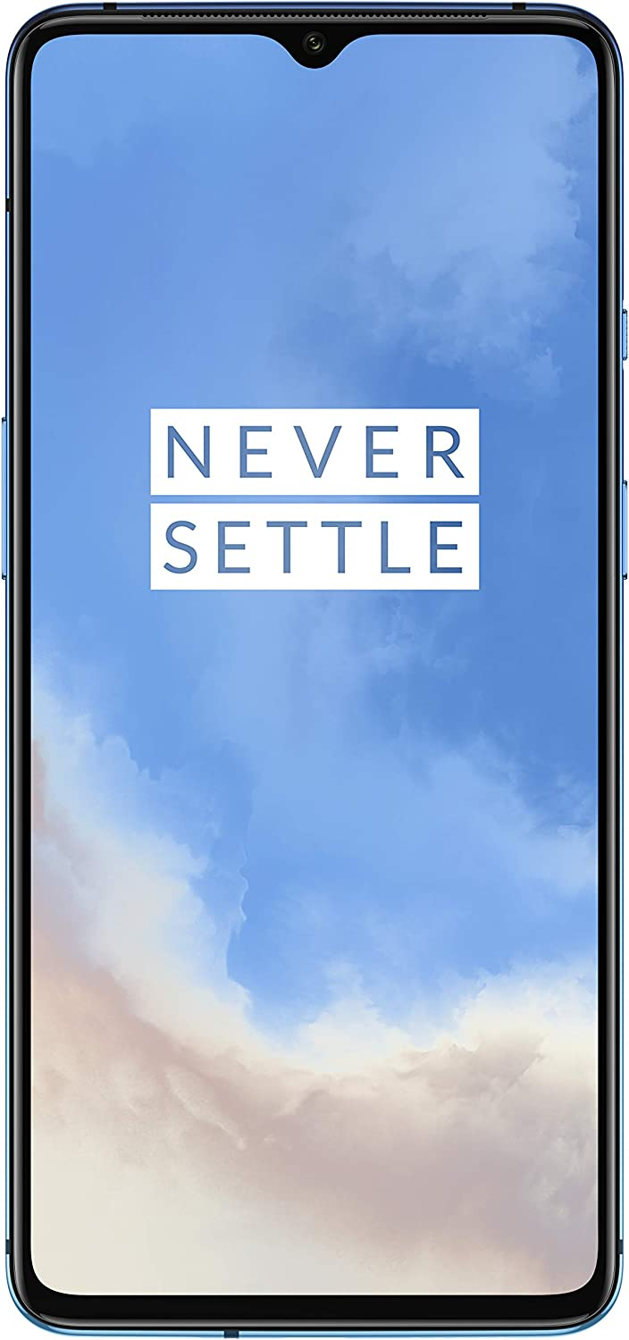 OnePlus 7T (Glacier Blue, 8GB RAM, Fluid AMOLED Display, 128GB Storage, 3800mAH Battery)